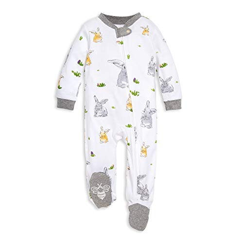 f3dc4d680 Footies – Burt's Bees Baby Baby Sleep & Play, Organic One-Piece Romper-Jumpsuit  PJ, Zip Front Footed Pajama, Bunny Trail 3-6 Months Offers