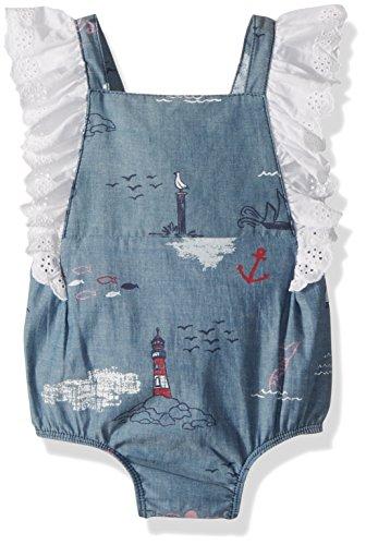 Mud Pie Baby Girls One Piece Playwear Outfit