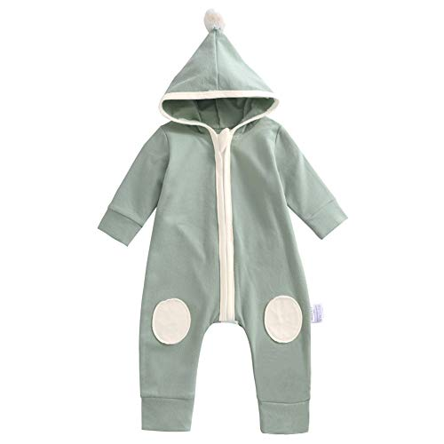 067f86bad Rompers – Y·J Back home Infant Romper Clothes Baby Organic Cotton Union Suit  One Piece Outfit Toddler Long Sleeve Jumpsuit with Hood Newborn Birthday ...